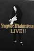 Yngwie Malmsteen/Yngwie Malmsteen Live!! (2cd+Video) Box Set/CD1002